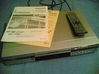 Panasonic DMR-E60 DVD Recorder