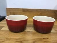Le Creuset ramekins (set of 2)