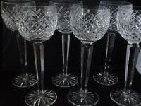 Tyrone Crystal Hock Glasses