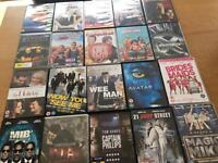 Selection of 75 DVDs - all popular titles