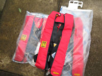 Life Jackets (Crew Saver) Can sell seperately (£30 each) or set of 3 £90