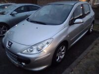 PEUGEOT 307 1.6 HDI. 97K MILES MOTED NOV. 60+ MPG £1195 IN KETTERING