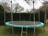 Large GB Trampoline needs new home!
