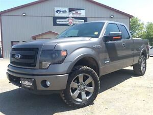 2013 Ford F-150 FX4 PACKAGE 2.5 RC LIFT NEW COOPER STT PRO'S!
