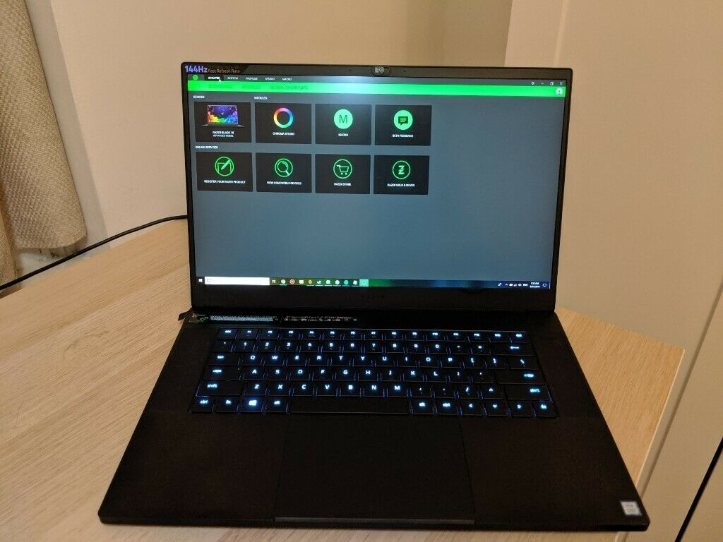 Used Razer Blade 15 2018 Advanced (i7-8750H and GTX-1070 Max-Q) | in West  End, London | Gumtree