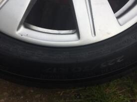 Audi Alloys wheels and vGood tyres
