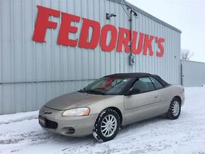 2002 Chrysler Sebring LX Package ***Professionally Serviced and