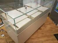 Shop Counter Glass Display Unit