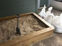 Free Half of tonne of sand - urgent removal from back garden