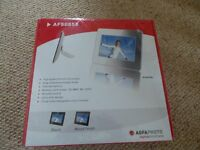 AGFA digital photo frame AF5085S (8 inch LCD screen)