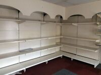 Shop clearance of shelving units