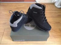 Timberland Boots size 9 black/grey (suede)£90