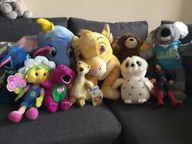 Giant bundle of cuddly toys (bears) incl Disney, Build a Bear and many more