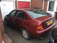 Ford Focus 2.0 Ghia Saloon