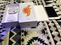 IPHONE 6S PLUS 128GB ROSE GOLD BOXED