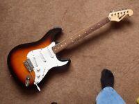 Strat style eletric guitar