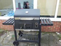tepro XXL Toronto Trolley Grill Barbecue- Black