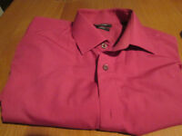 Remus Uomo high quality Tapered Shirts both 15 1/2 inch or 39 cm collar size