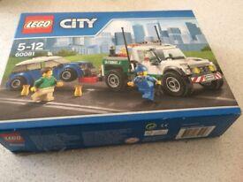 Lego city pick up truck 60081