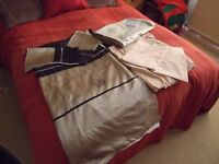 Complete bed set Duvet fitted sheet pillow cases runner.