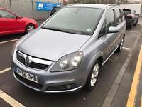 Vauxhall zafira 56/2007 7 seater