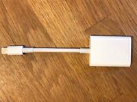 Apple Lightning to SD Card Reader