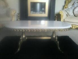 French rococo style coffee table