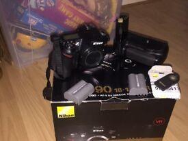 Nikon D90 plus accessories