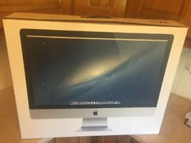 I mac computer in excellent condition . Late 2012 .