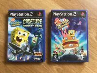PlayStation 2 spongeBob games. Ps2