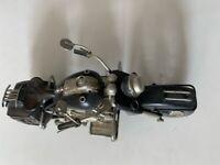 Decorative items - metal motor bikes