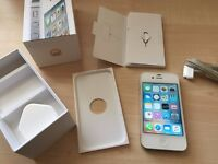 i-Phone 4S white 16GB unlocked