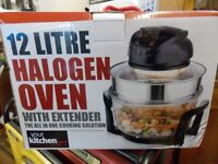 BRAND NEW IN BOX 12 LITRE 1300 w HALOGEN OVEN