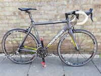 Good condition and perfect working order mens 56cm road bike full 105 shimano bargain