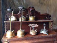 Antique tilley lamp