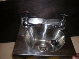Stainless Steel Wash Hand Basin - Franke Sissons Model A