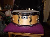 Pearl Sensitone snare drum