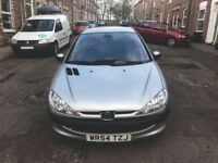 Peugeot 206 SE, 1.4 ltr, 16V, 5 door hatchback, petrol, manual, MOT April 2019, 77200 miles