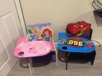 Children's table/desk for dinner table etc boy and girl
