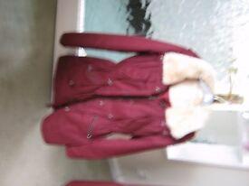 Red Herring ladies coat size 10