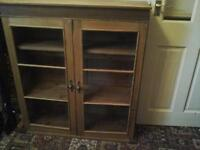 antique pine style cabinet
