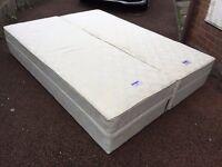 King Size Bed Base - Divan Spring Base Bed