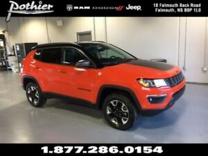 2018 Jeep Compass Trailhawk | LEATHER | REAR CAMERA | UCONNECT |