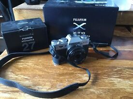 Fuji x t10 with 27mm