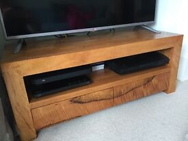Mango wood media unit / TV console table