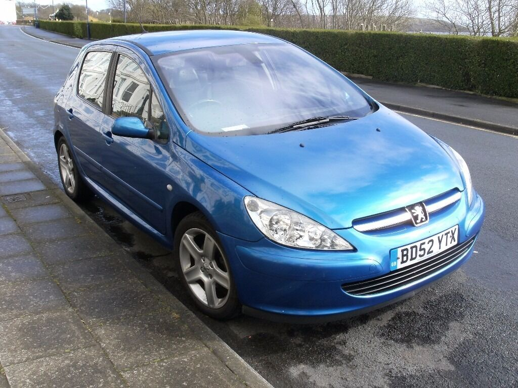 peugeot 307 xs metallic blue 395 in filey north yorkshire gumtree. Black Bedroom Furniture Sets. Home Design Ideas