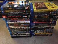Variety of blu-ray dvds