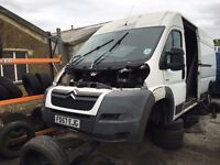 CITROEN RELAY 35 HDI 120 XLWB 2007 PANEL VAN WHITE- FOR PARTS ONLY