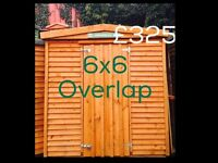 6x6 shed *free delivery