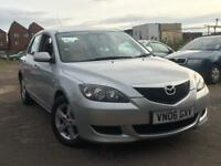 Mazda 3 1.6 2006 + FULL SEVICE HISTORY + MOT TILL MARCH 2018 + LOW MILES